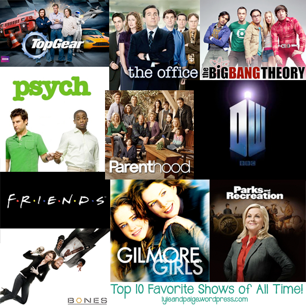 best shows time ranked