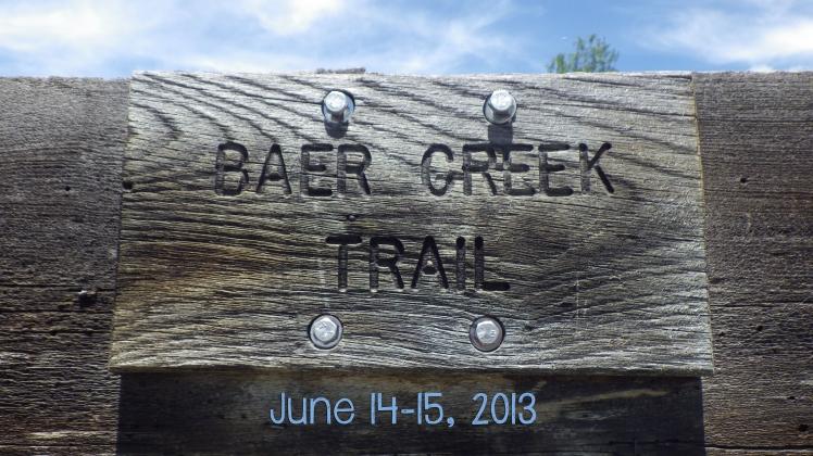 Baer Trail Trip