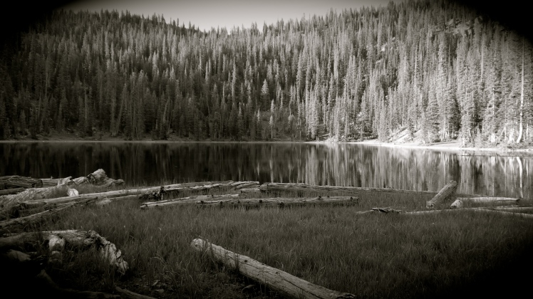 Shingle Lake - Uintahs - Utah - June 2013