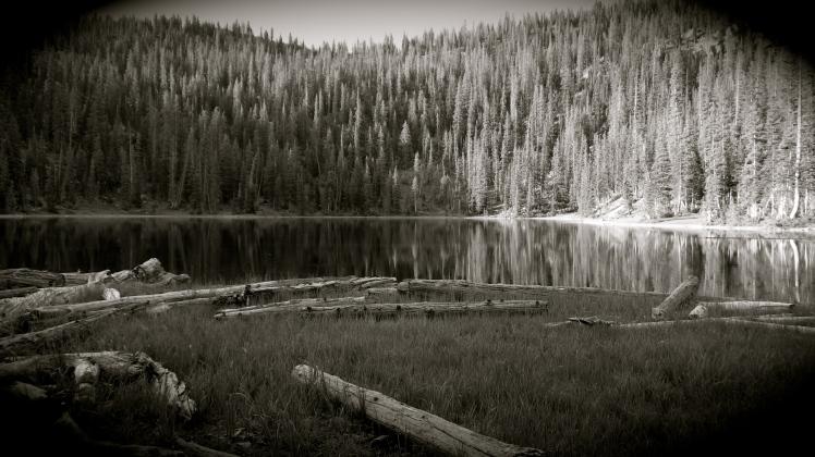 Shingle Lake - Uintahs - Utah - June 2013