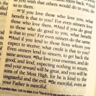 Luke 6:32-36